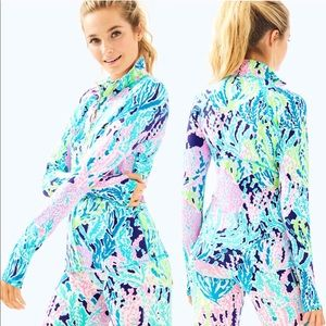 NWT Lilly Pulitzer Serena Jacket Let's Cha Small
